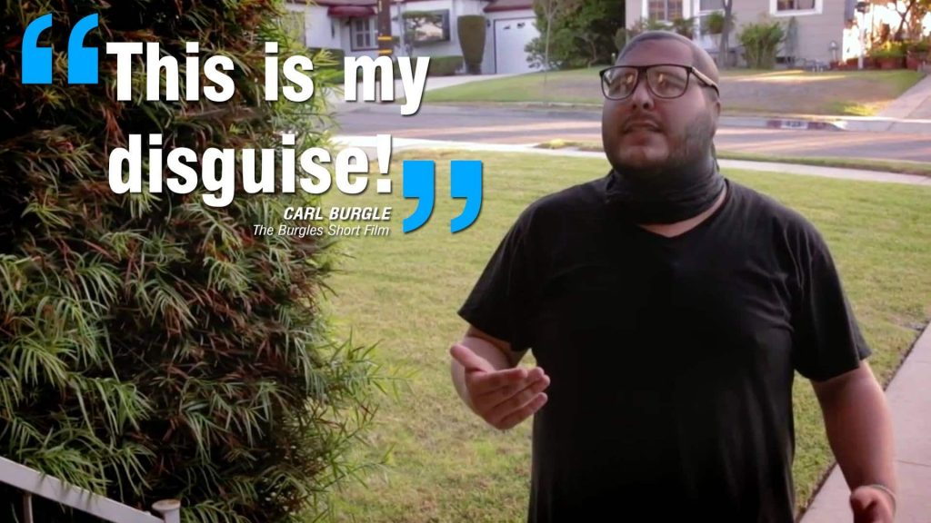 The Burgles - Quote